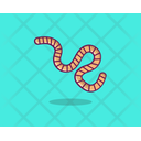 Earthworm Insect Reptiles Icon