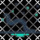 Worm Earthworm Creep Icon