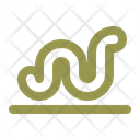 Worm Spring Nature Icon