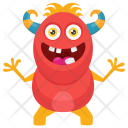Worm Ghost Zombie Icon