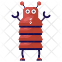 Worm Robot Robot Insect Mechanical Robot Icon