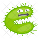 Microorganism Amoeba Scary Bacteria Icon