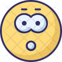 Worried Surprised Thinking Icon