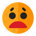 Worried Emoji Emoticon Icon