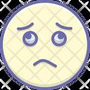 Worried Sadness Gloomdoldrums Icon