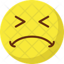Worried Confused Emoticons Icon