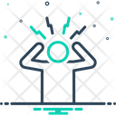 Worried Troubled Frustration Icon