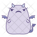 Worried Unhappy Uncertain Icon