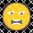 Emoji Worried Sad Icon