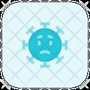 Worried Coronavirus Emoji Coronavirus Icon