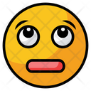Worried Face Feeling Icon