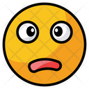 Worried Sad Face Icon