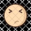 Worried Emoji Amazed Icon