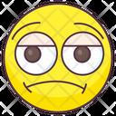 Worried Emoji Worried Expression Emotag Icon