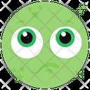 Worried Face Emoji Emoticon Icon