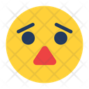 Worried Expression Icon