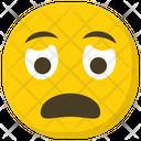 Worried Face Sad Face Sad Emoji Icon
