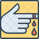Wound Injury Sore Icon