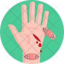 Wound First Aid Bandage Icon