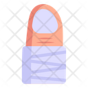 Laceration Wound Finger Cut Icon