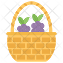 Woven Wicker Wicker Basket Wicker Texture Icon