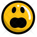 Wow Upset Emoji Icon
