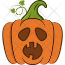 Wow Pumpkin Icon