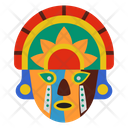Woyo Mask African Culture Tribal Mask Icon