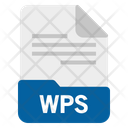Wps File Format Icon