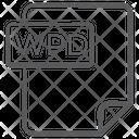Wpd File Document File Icon