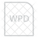 Wordperfect Document Extension File Icon
