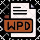 Wpd File Type File Format Icon
