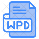 Wpd Document File Icon