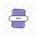 Wpd File Document Icon