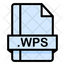 Wps File File Extension Icon