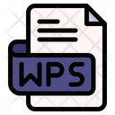 Wps File Type File Format Icon