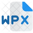 Wpx File Audio File Audio Format Icon