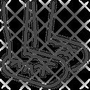 Wrap Foot Icon
