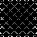 Wrap image center Icon