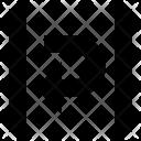 Text Wrap Design Icon