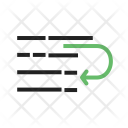 Text Wrap Tool Icon