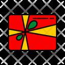 Color Gift Box Icon