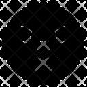 Wrath Emoji Face Icon