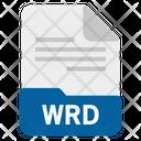 Wrd file Icon