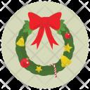 Wreath Decoration Christmas Icon