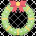Wreath Decoration Ornament Icon