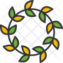 M Wreath Icon