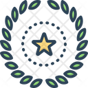 Wreath Decoration Frame Icon