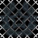 Laurel Wreath Premium Premium Product Icon