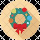Wreath Christmas Xmas Icon